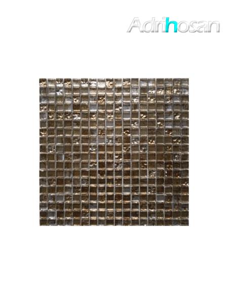 Malla de cristal grafiti Gold 30x30 cm (venta por mallas)