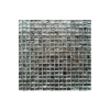 Malla de cristal grafiti silver 30x30 cm. Malla de cristal de tesela pequeña para realizar decoraciones espectaculares en baños o cocinas.