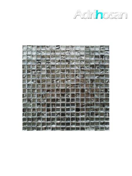 Malla de cristal grafiti Silver 30x30 cm (venta por mallas)