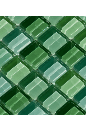 Malla de cristal Murano 30x30 cm. Malla de cristal de vivos colores para realizar decoraciones espectaculares en baños o cocinas.