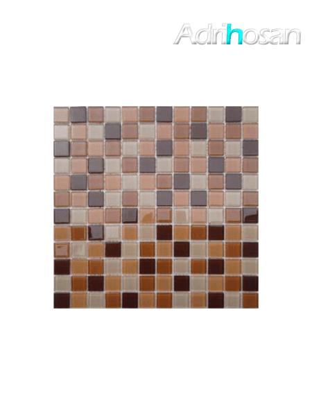 Malla de cristal Murano beige 30x30 cm (venta por mallas)