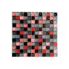 Malla de cristal Murano galante 30x30 cm. Malla de cristal de vivos colores para realizar decoraciones espectaculares en baños o cocinas.
