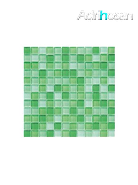Malla de cristal Murano verde 30x30 cm (venta por mallas)