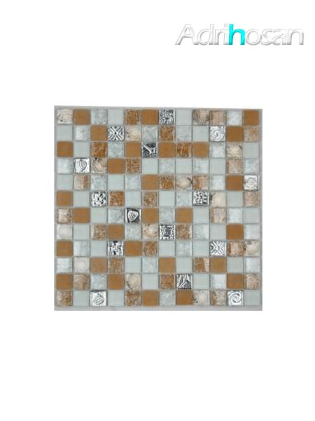 Malla de cristal Ocean beige 30x30 cm (venta por mallas)