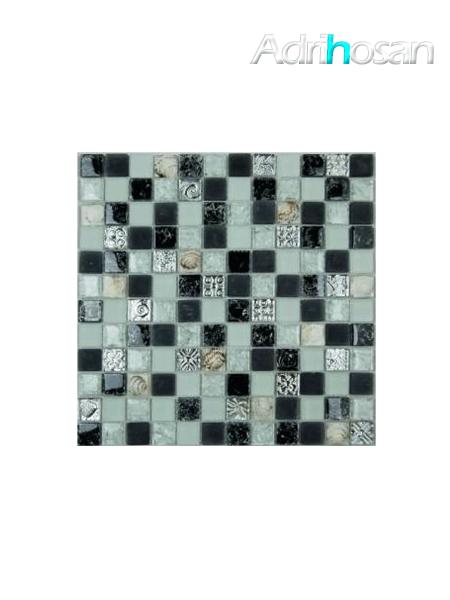 Malla de cristal Ocean gris 30x30 cm (venta por mallas)