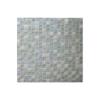 Malla de mármol y cristal Iris blanco 30x30 cm. Malla de cristal y mármol natural para realizar decoraciones espectaculares en baños o cocinas.