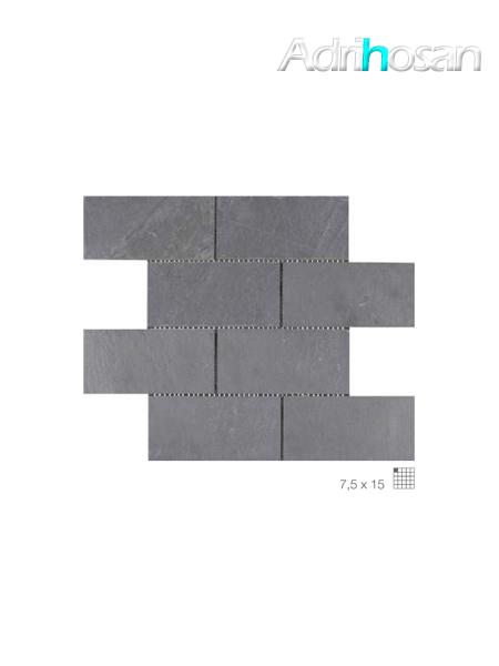 Malla de pizarra Agra negro 30x30 cm (venta por mallas)