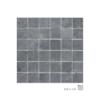 Malla de pizarra Calcuta negro 30x30 cm. Malla de piedra natural ideal para decoraciones de platos de ducha y exteriores, mezclada con cristal.