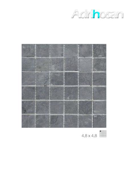 Malla de pizarra Calcuta negro 30x30 cm (venta por mallas)