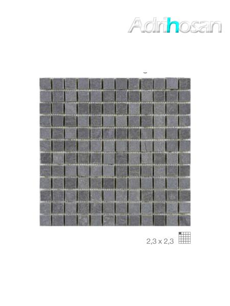 Malla de pizarra Nueva Delhi negro 30x30 cm (venta por mallas)