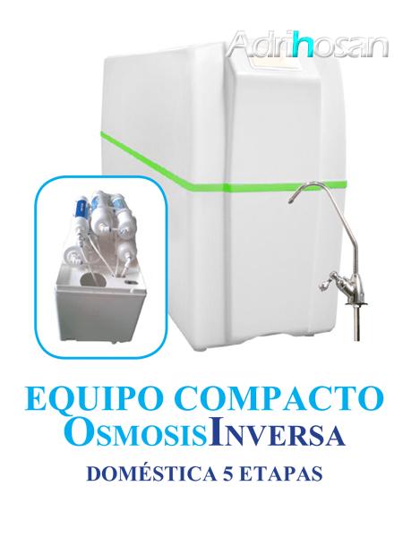 Osmosis Inversa compacto Ro-5 cinco etapas. Agua pura en tu cocina