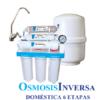 Osmosis Inversa Ro-106 seis etapas. Agua pura en tu cocina. Un aparato que eliminará todos los residuos, sabores y olores del agua potable de tu hogar.