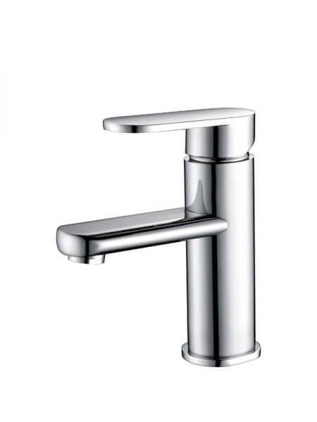 Monomando lavabo Alicante cromo brillo. La grifería Alicante se caracteriza por las suaves curvas que delimitan su contorno.