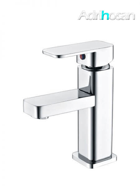 Monomando lavabo Cádiz grifo cromo brillo