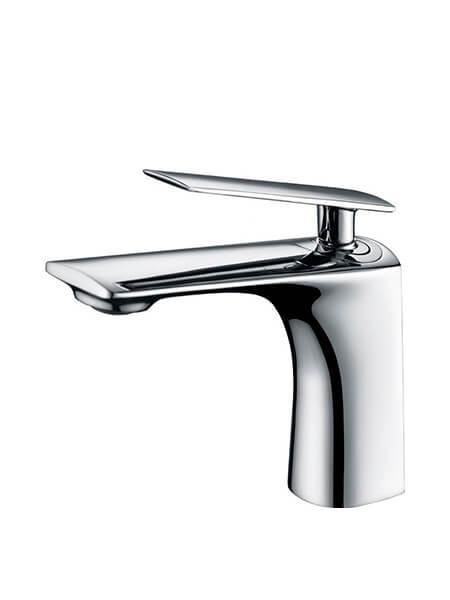 Monomando lavabo Kily cromo brillo. La grifería Kily se caracteriza por las suaves curvas que delimitan su contorno.