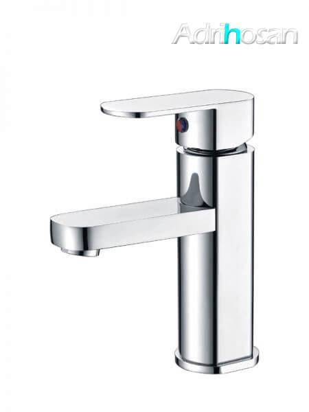 Monomando lavabo Málaga grifo cromo brillo