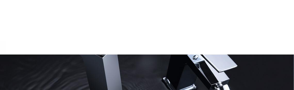 Monomando lavabo Soria cromo brillo. La grifería Soria se caracteriza por las suaves curvas que delimitan su contorno.