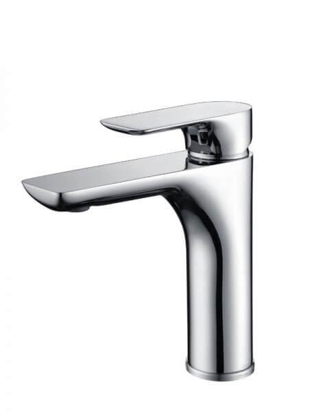 Monomando lavabo Tarragona cromo brillo. La grifería Tarragona se caracteriza por las suaves curvas que delimitan su contorno.
