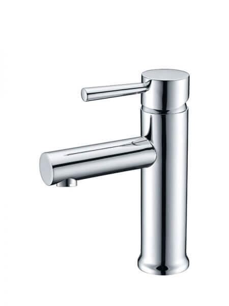 Monomando lavabo Toledo cromo brillo. La grifería Toledo se caracteriza por las suaves curvas que delimitan su contorno.