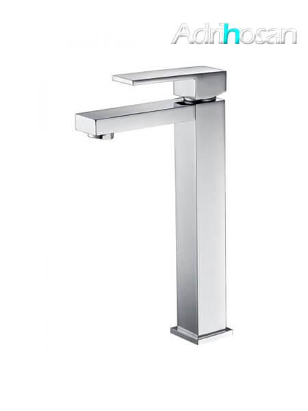 Monomando lavabo alto Santander grifo cromo brillo