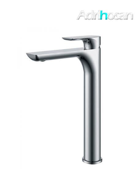 Monomando lavabo alto Tarragona grifo cromo brillo