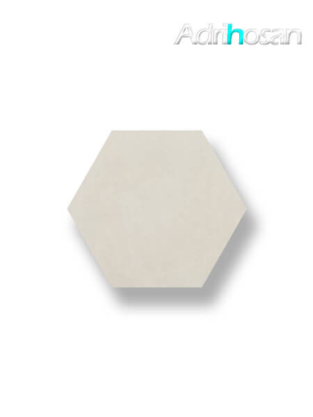 Pavimento hexagonal porcelánico Antic Crema 25,8x29 cm (1 m2/cj)