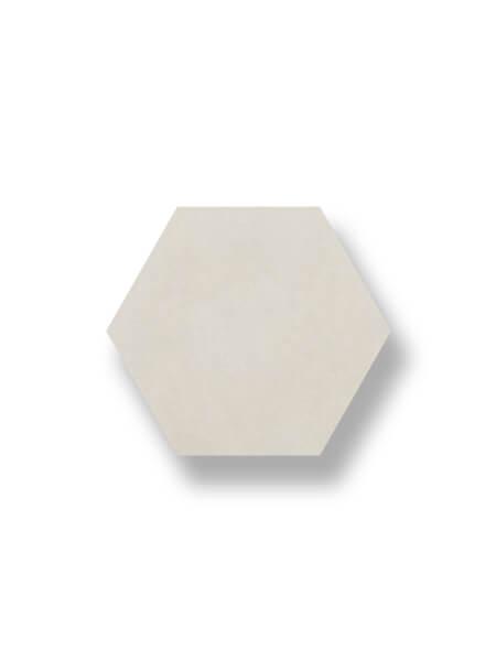 Pavimento hexagonal porcelánico Antic Crema 25,8x29 cm. Azulejo anti hielo de alta decoración para suelos o paredes para diseños exclusivos.