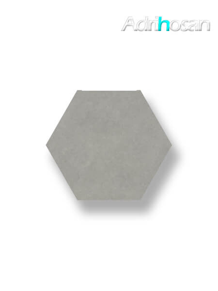Pavimento hexagonal porcelánico Antic Gris 25,8x29 cm (1 m2/cj)