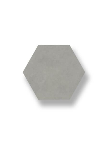 Pavimento hexagonal porcelánico Antic Gris 25,8x29 cm. Azulejo anti hielo de alta decoración para suelos o paredes para diseños exclusivos.