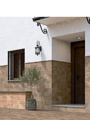 Pavimento imitación barro Arena 15x30 cm. Diseños del pasado con tecnología del presente, azulejo para paredes y suelos vintage o retro.
