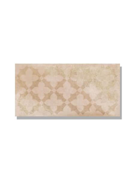 Pavimento imitación barro arena estrella 15x30 cm. Diseños del pasado con tecnología del presente, azulejo para paredes y suelos vintage o retro.