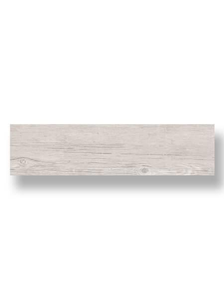 Pavimento porcelánico Dover Ash 25x100 cm imitación madera. Un azulejo para suelos interiores o exteriores que te encantará por su calidez.