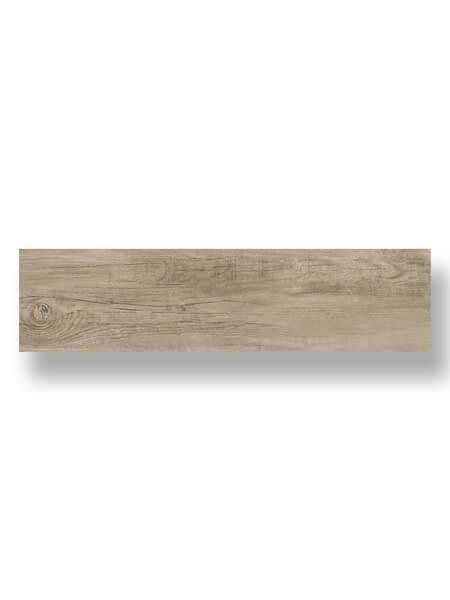 Pavimento porcelánico Dover Oak 25x100 cm imitación madera. Un azulejo para suelos interiores o exteriores que te encantará por su calidez.