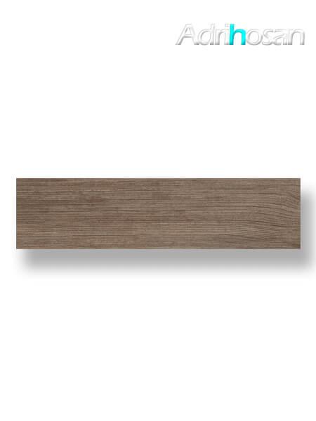 Pavimento porcelánico Vila Noce 25x100 cm imitación madera. Un azulejo para suelos interiores o exteriores que te encantará por su calidez.