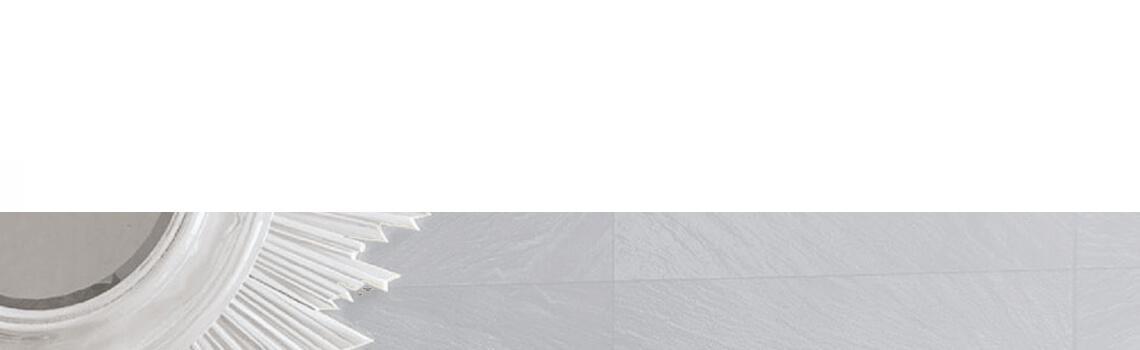 Pavimento porcelánico imitación pizarra blanco 30 x 60 cm. Azulejo para suelos o paredes que imita a la pizarra natural, azulejo con relieve.