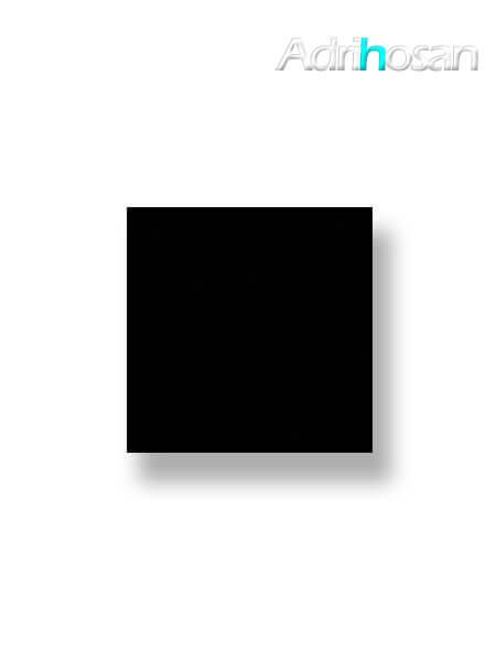 Pavimento porcelánico rectificado todo masa Super black 60x60 cm (1.44 m2/cj)