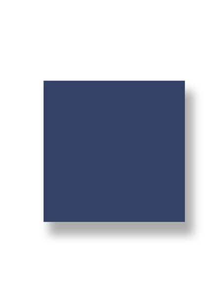 Revestimiento pasta roja liso azul oscuro brillo 20x20 cm. Un azulejo clásico válido para revestir paredes con 14 colores disponibles en dos acabados.