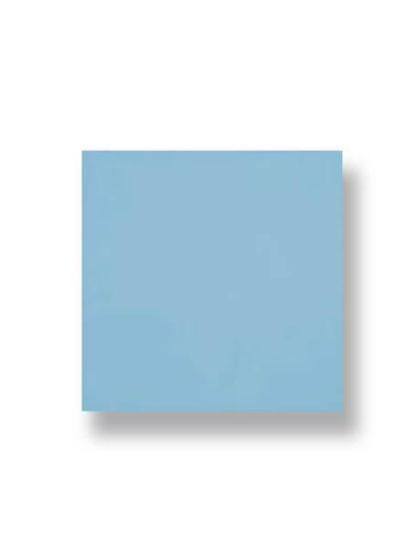 Revestimiento pasta roja liso celeste brillo 20x20 cm. Un azulejo clásico válido para revestir paredes con 14 colores disponibles en dos acabados.