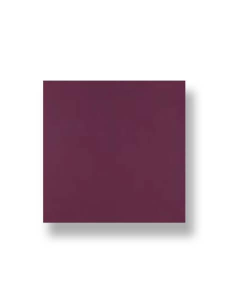 Revestimiento pasta roja liso malva mate 20x20 cm. Un azulejo clásico válido para revestir paredes con 14 colores disponibles en dos acabados.