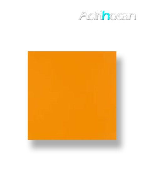 Revestimiento pasta roja liso naranja mate 20x20 cm (1 m2/cj)