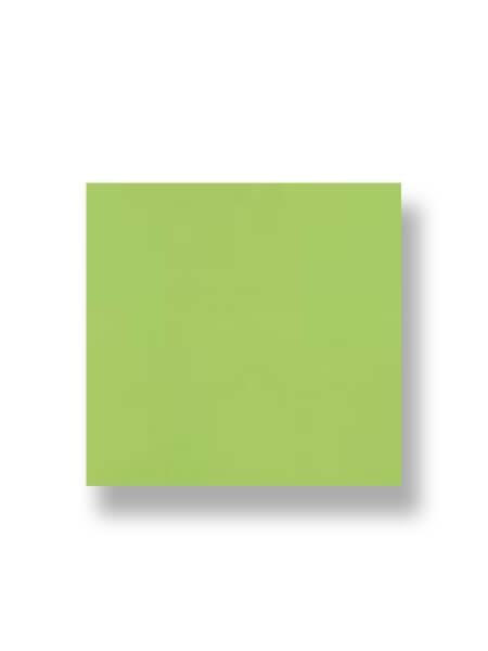 Revestimiento pasta roja liso Pistacho brillo 20x20 cm. Un azulejo clásico válido para revestir paredes con 14 colores disponibles en dos acabados.