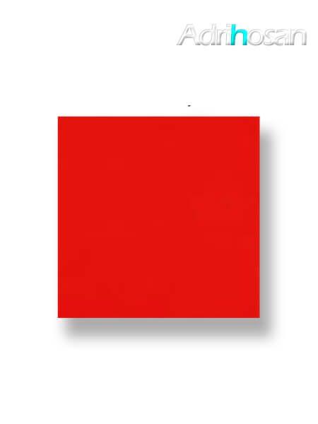 Revestimiento pasta roja liso rojo brillo 20x20 cm (1 m2/cj)