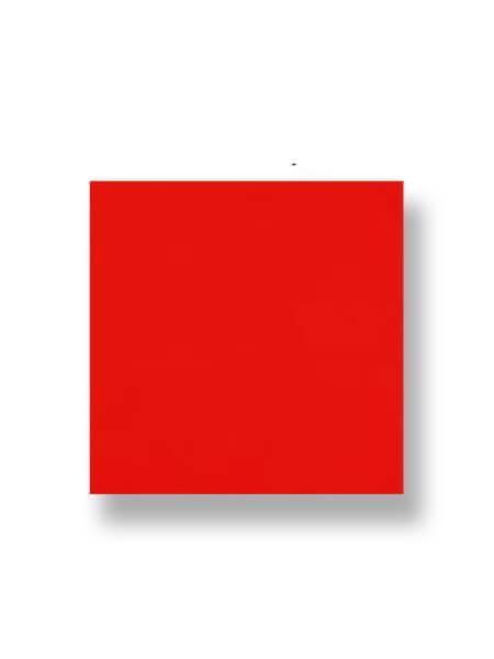 Revestimiento pasta roja liso rojo brillo 20x20 cm. Un azulejo clásico válido para revestir paredes con 14 colores disponibles en dos acabados.