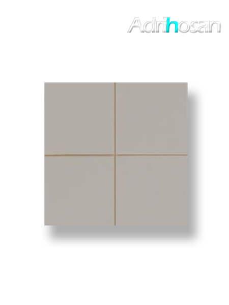 Revestimiento precorte 10x10 pasta roja liso ceniza mate 20x20 cm (1 m2/cj)