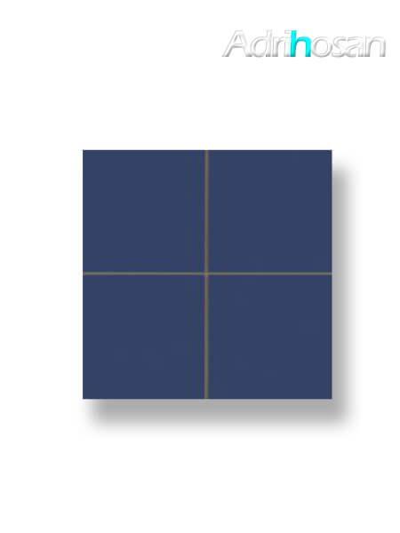 Revestimiento precorte 10x10 pasta roja liso cobalto brillo 20x20 cm (1 m2/cj)