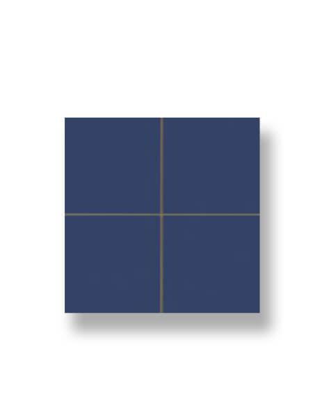 Revestimiento precorte 10x10 pasta roja liso cobalto 20x20 cm. Un azulejo fácil de instalar y que te ofrecerá el aspecto de un azulejo 10x10 cm.