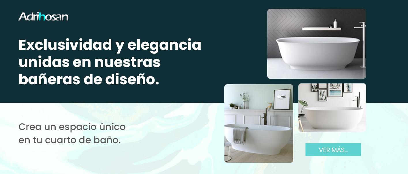 Bañeras exentas envio gratis Solid Surface Adrihosan