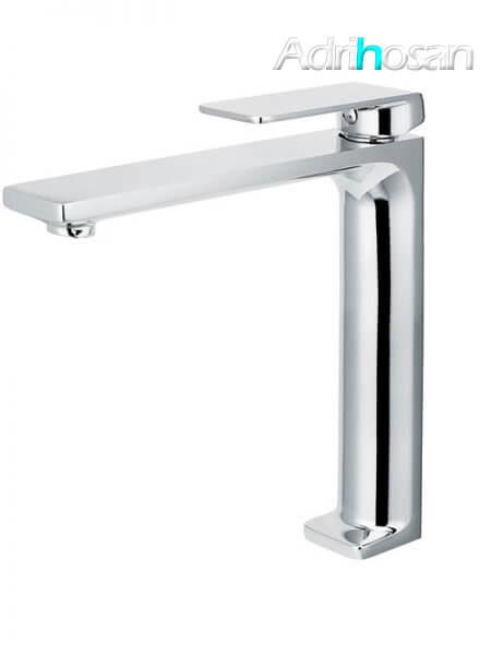 Monomando lavabo alto Lugo grifo cromo brillo