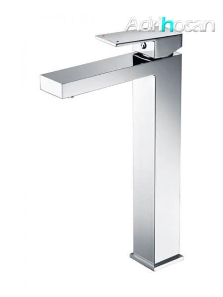 Monomando lavabo alto Lucena grifo cromo brillo