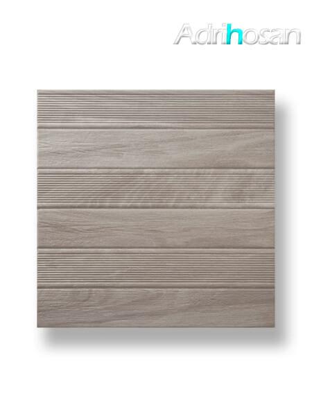 Pavimento imitación madera Tudela gris 45x45 cm (1.42 m2/cj)